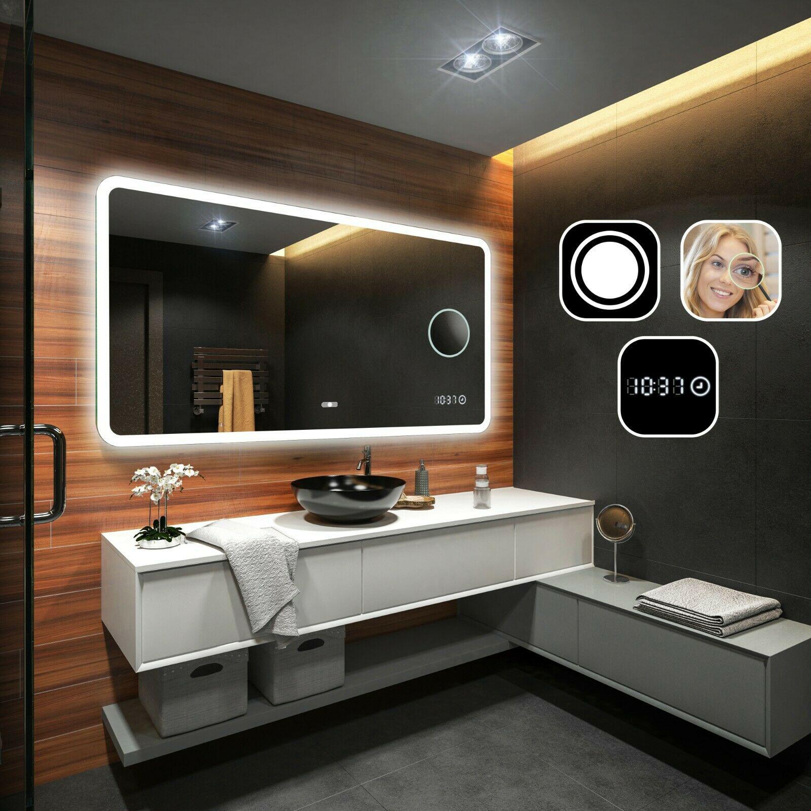 Miroir Salle De Bain Interrupteur