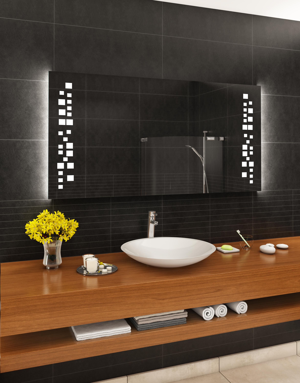 badspiegel mit led beleuchtung badezimmerspiegel wandspiegel nach ma m38 ebay