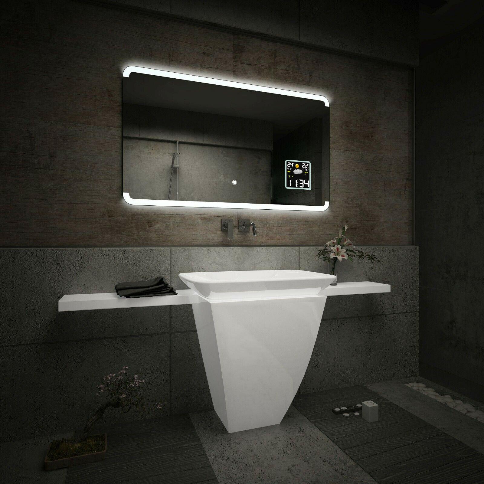 Espejo de ba o con la iluminaci n led estaci n - Iluminacion espejos de bano ...