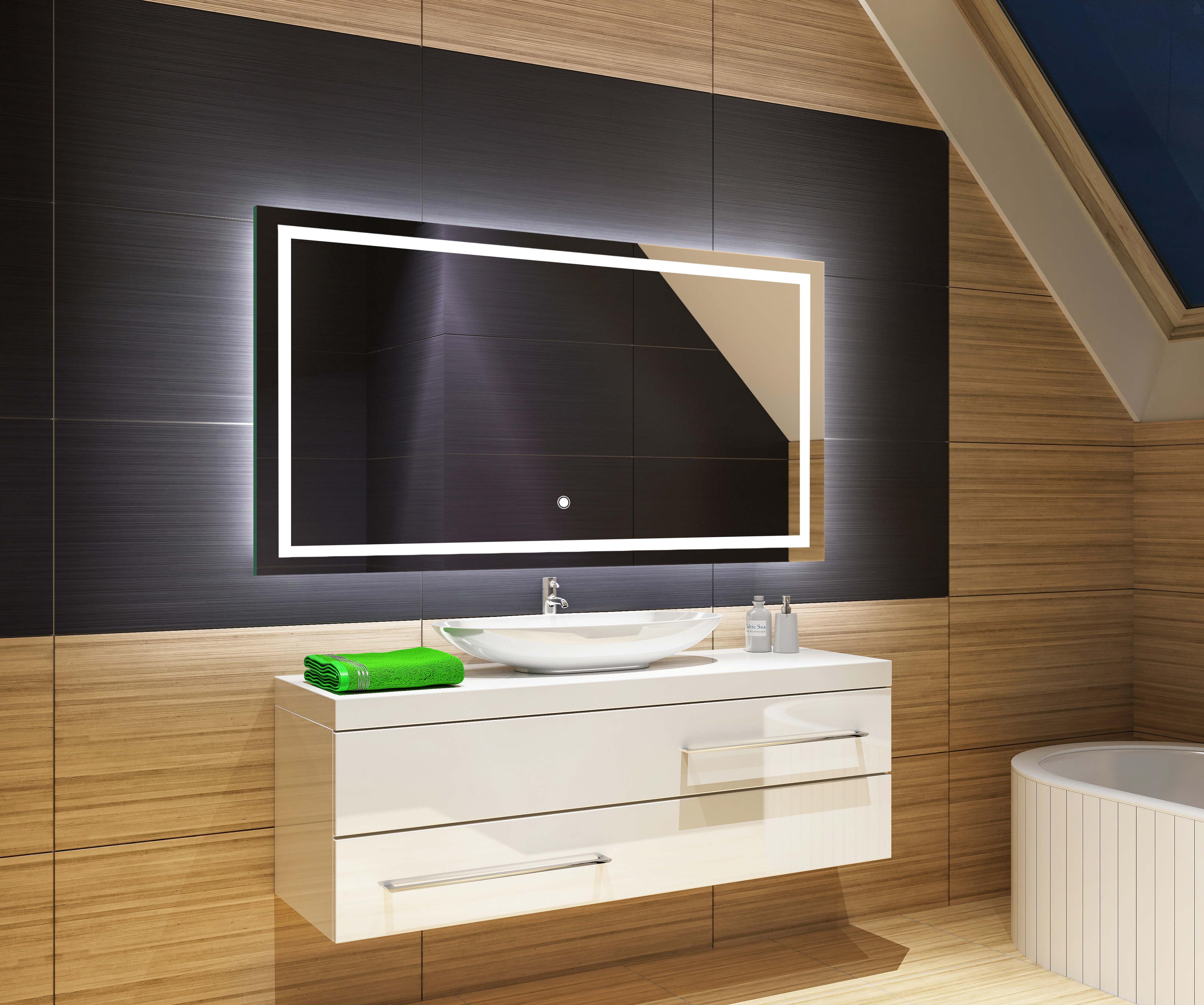 Badezimmerspiegel Spiegel Schalter Led Badspiegel